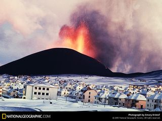 Icelandvolcano