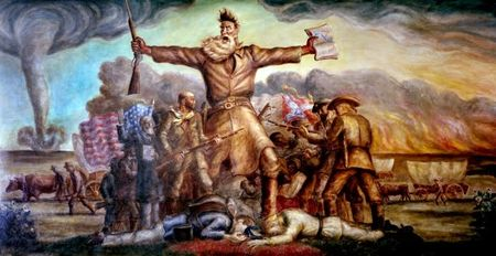 JOHN BROWN MURAL (Topeka)