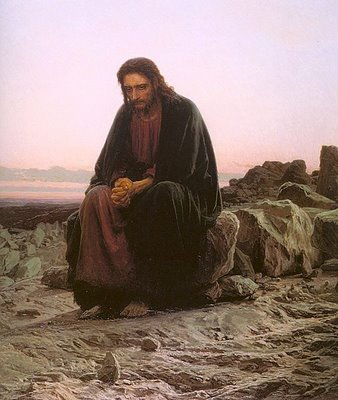 Christ in the Wilderness, Ivan Kramskoy 1872