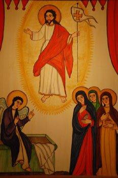 Retablo St. Francis Santa Fe sized