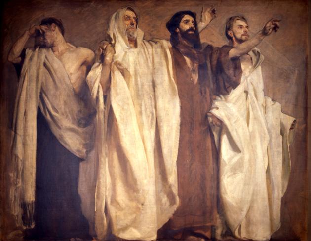 Frieze of the Prophets John Singer Sargent