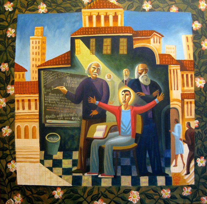 Jesus in the temple James B. Janknegt