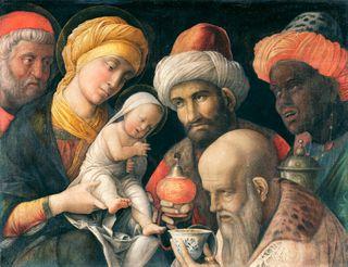 Andrea Mantegna Adoration of the Magi