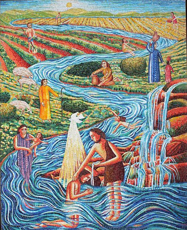 Progressive Involvement Baptism Of Our Lord Luke 3 15