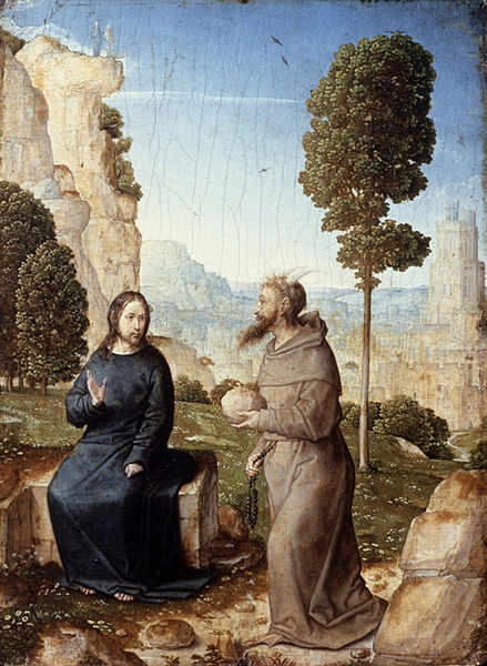 Juan Flandes Temptation of Christ in the Wilderness