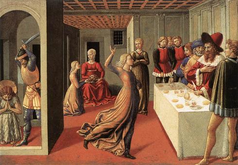 Beheading of the baptist