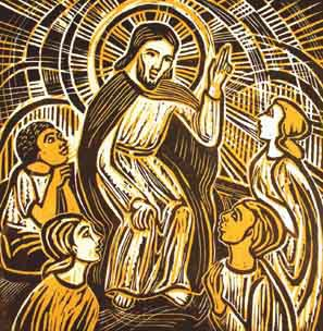 Jesus_teaching_woodcut