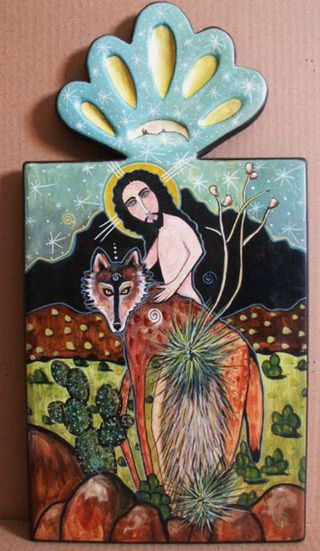 Christ in the wilderness virginia maria romero