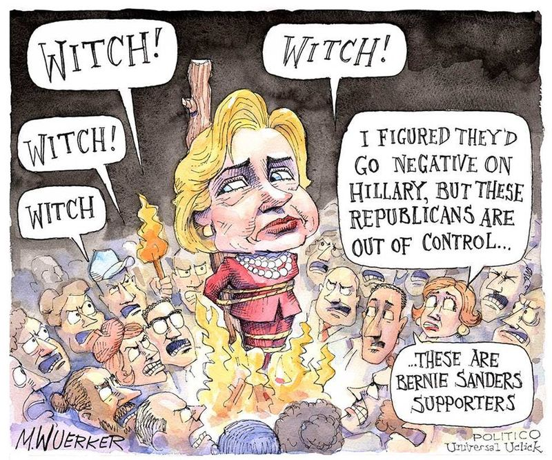 Hillary the witch