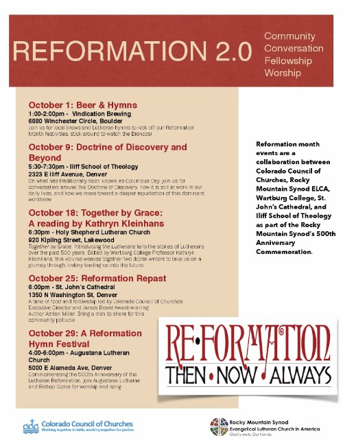 Reformation activities