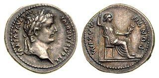 Denarius tiberius