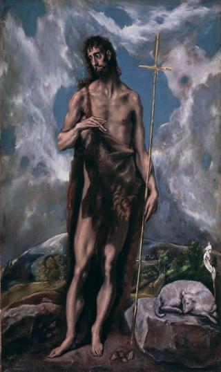 St.-john-the-baptist-el-greco