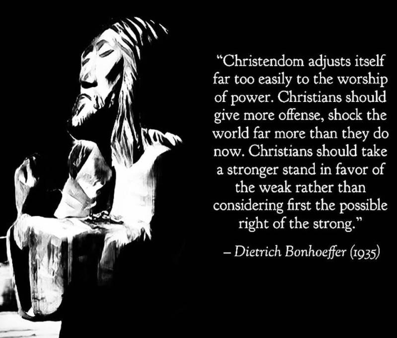 Bonhoeffer quote